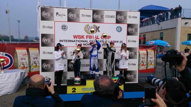 WSK FINAL CUP MINI 60 vyhráva Mattiov LENZOKART